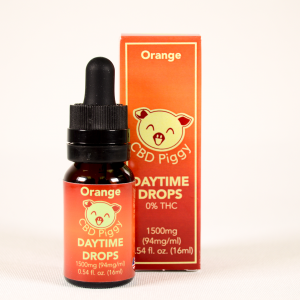 Orange CBD Broad Spectrum